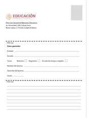 Desafíos Matemáticos Sexto grado página 184