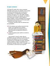 Lengua Materna Español Sexto grado página 009