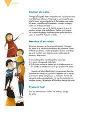 Lengua Materna Español Sexto grado página 030