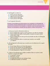 Lengua Materna Español Sexto grado página 041