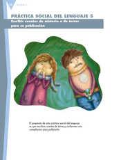 Lengua Materna Español Sexto grado página 058