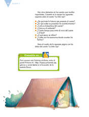 Lengua Materna Español Sexto grado página 062