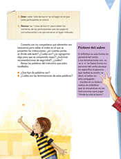 Lengua Materna Español Sexto grado página 077