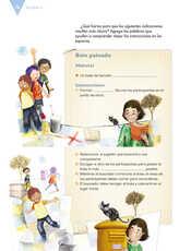 Lengua Materna Español Sexto grado página 078