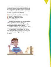 Lengua Materna Español Sexto grado página 091