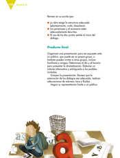 Lengua Materna Español Sexto grado página 108