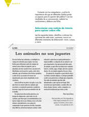 Lengua Materna Español Sexto grado página 114