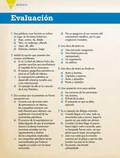 Lengua Materna Español Sexto grado página 122