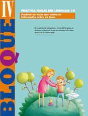 Lengua Materna Español Sexto grado página 124