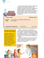 Lengua Materna Español Sexto grado página 128