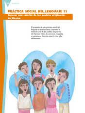 Lengua Materna Español Sexto grado página 136