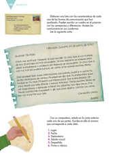 Lengua Materna Español Sexto grado página 148