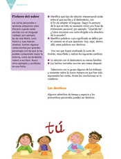 Lengua Materna Español Sexto grado página 150