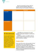 Lengua Materna Español Sexto grado página 154