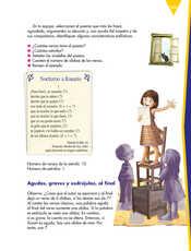 Lengua Materna Español Sexto grado página 165
