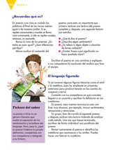 Lengua Materna Español Sexto grado página 166