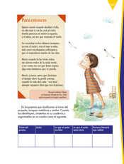 Lengua Materna Español Sexto grado página 167
