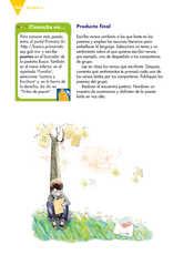Lengua Materna Español Sexto grado página 168