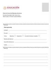 Lengua Materna Español Sexto grado página 184