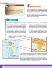 Geografía Sexto grado página 020