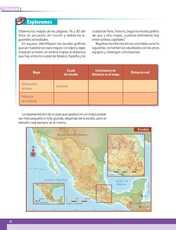 Geografía Sexto grado página 022