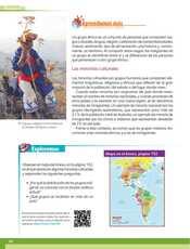 Geografía Sexto grado página 102