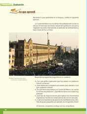 Geografía Sexto grado página 106