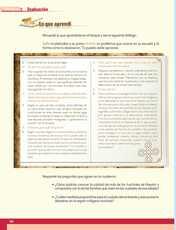 Geografía Sexto grado página 180