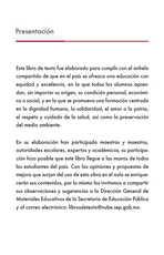 Lengua Materna Español Lecturas Sexto grado página 003