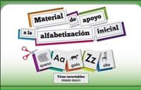 Material de apoyo para la alfabetización inicial