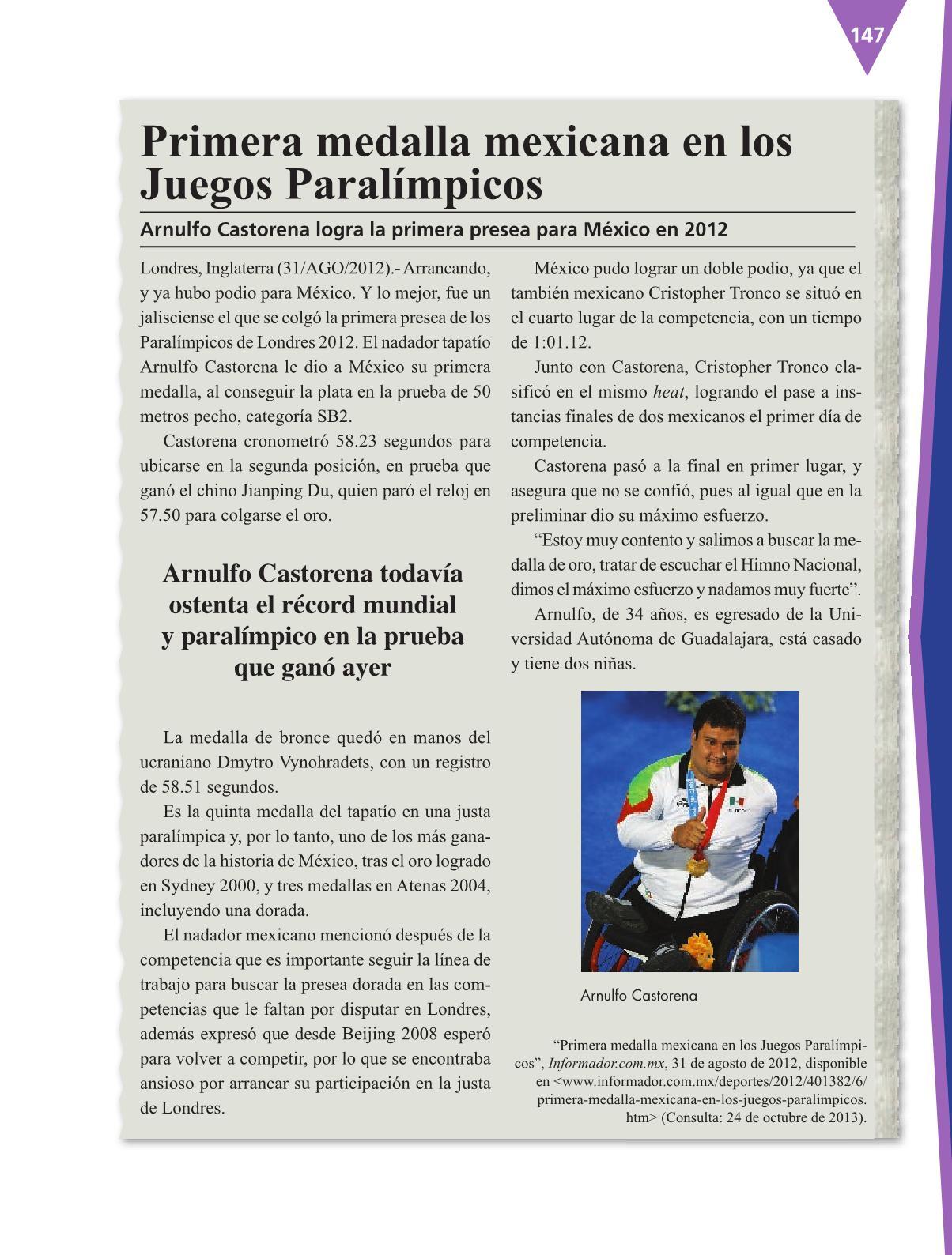 Español Libro para el alumnocuartoPagina 147
