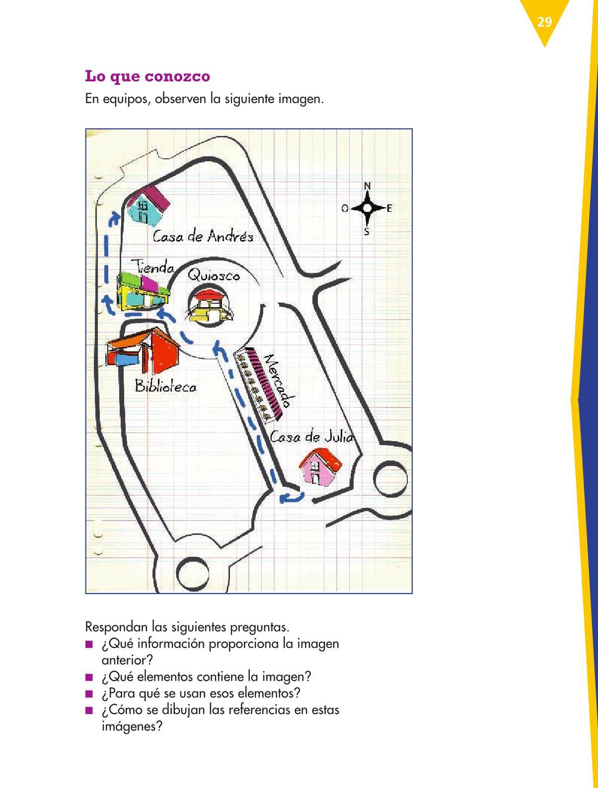 Español Libro para el alumnocuartoPagina 29