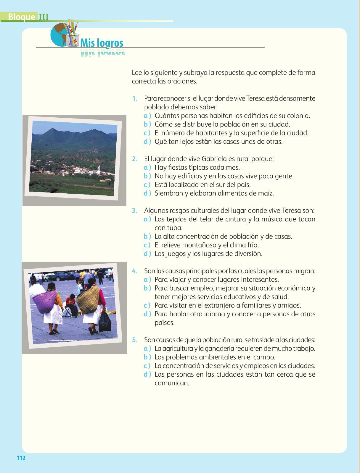 Geografía Cuarto grado 2016-2017 - Online - Página 112 de