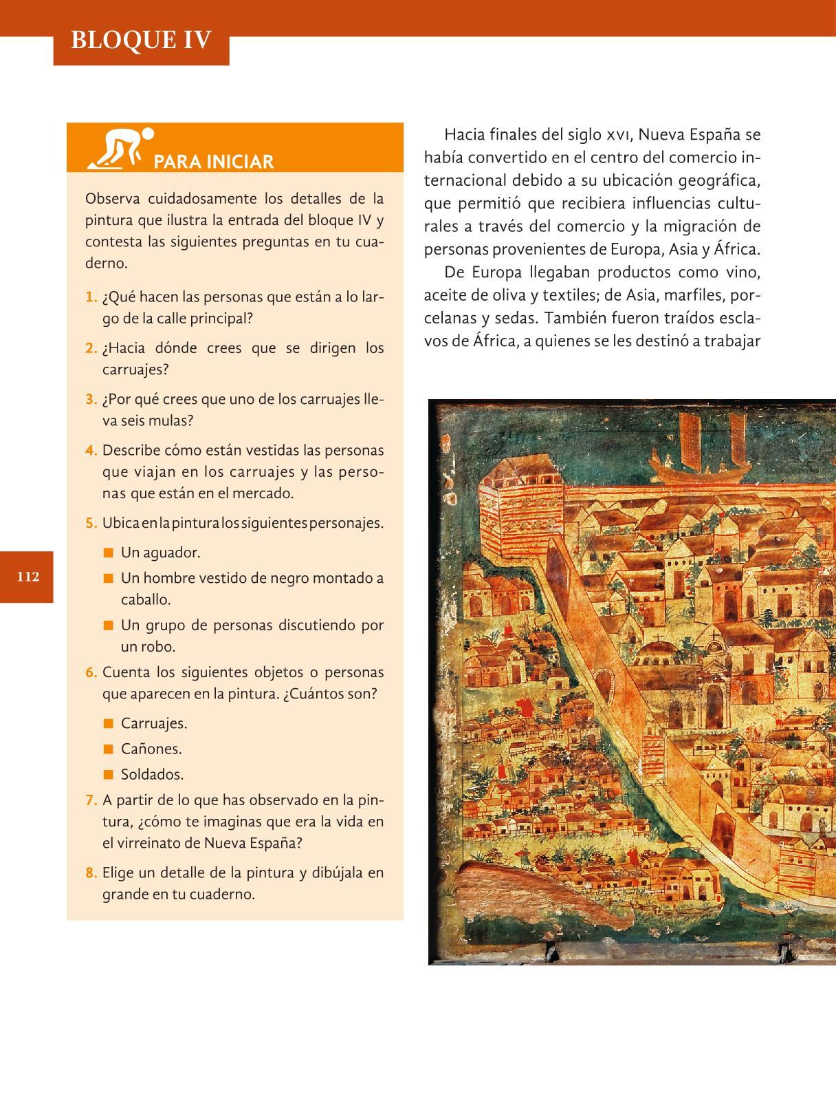 Historia Cuarto grado 2016-2017 - Online - Página 112 de 192 ...