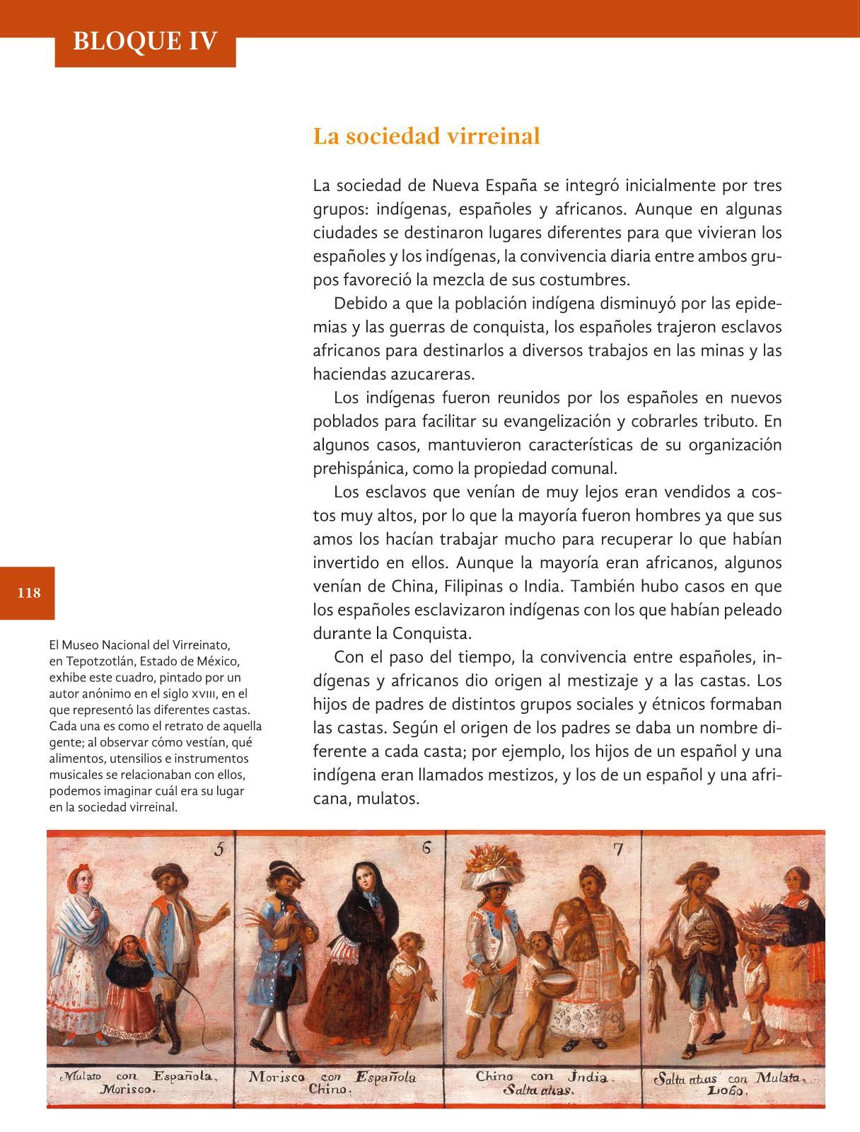 Pagina 118 De Historia De 4 Grado Historia Cuarto Grado - Classy World