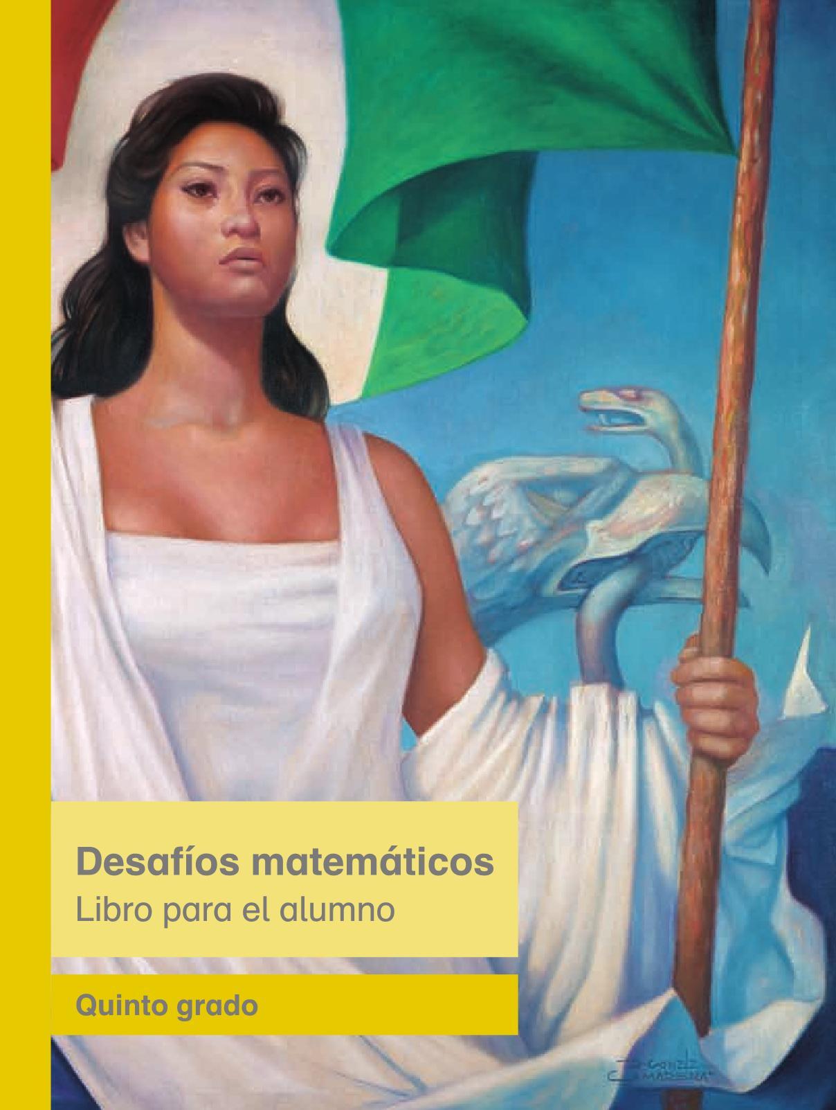 Desafíos Matemáticos Libro para el alumnoquintoPagina 1