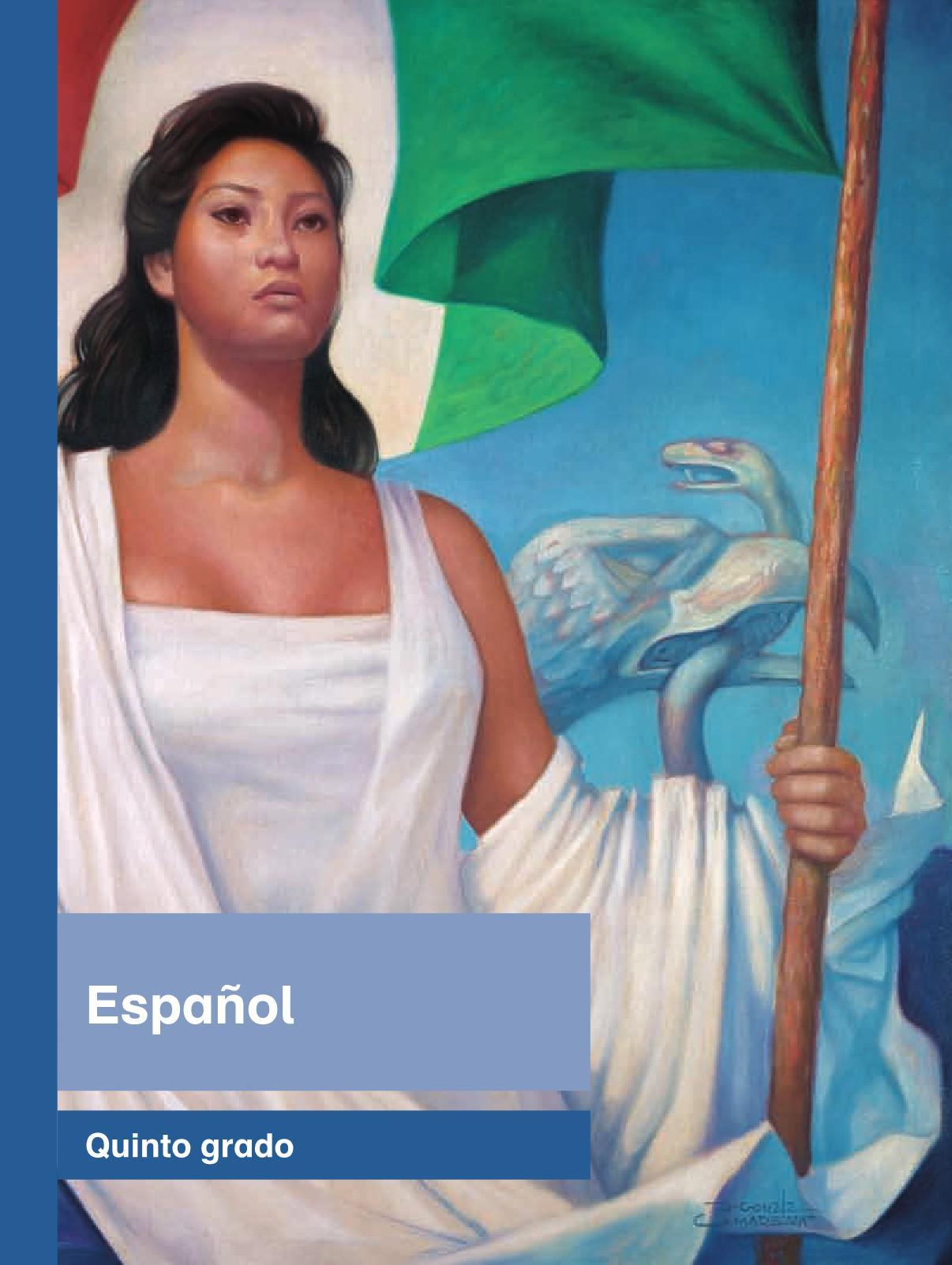 Español Libro para el alumnoquintoPagina 1