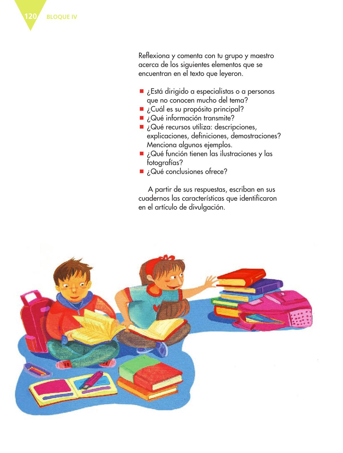 Español Quinto grado 2016-2017 – Libro de texto Online