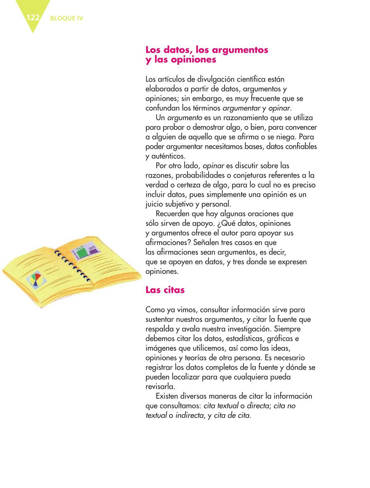 Español Libro para el alumnoquintoPagina 122