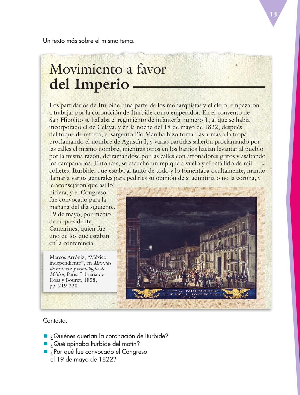 Español Libro para el alumnoquintoPagina 13