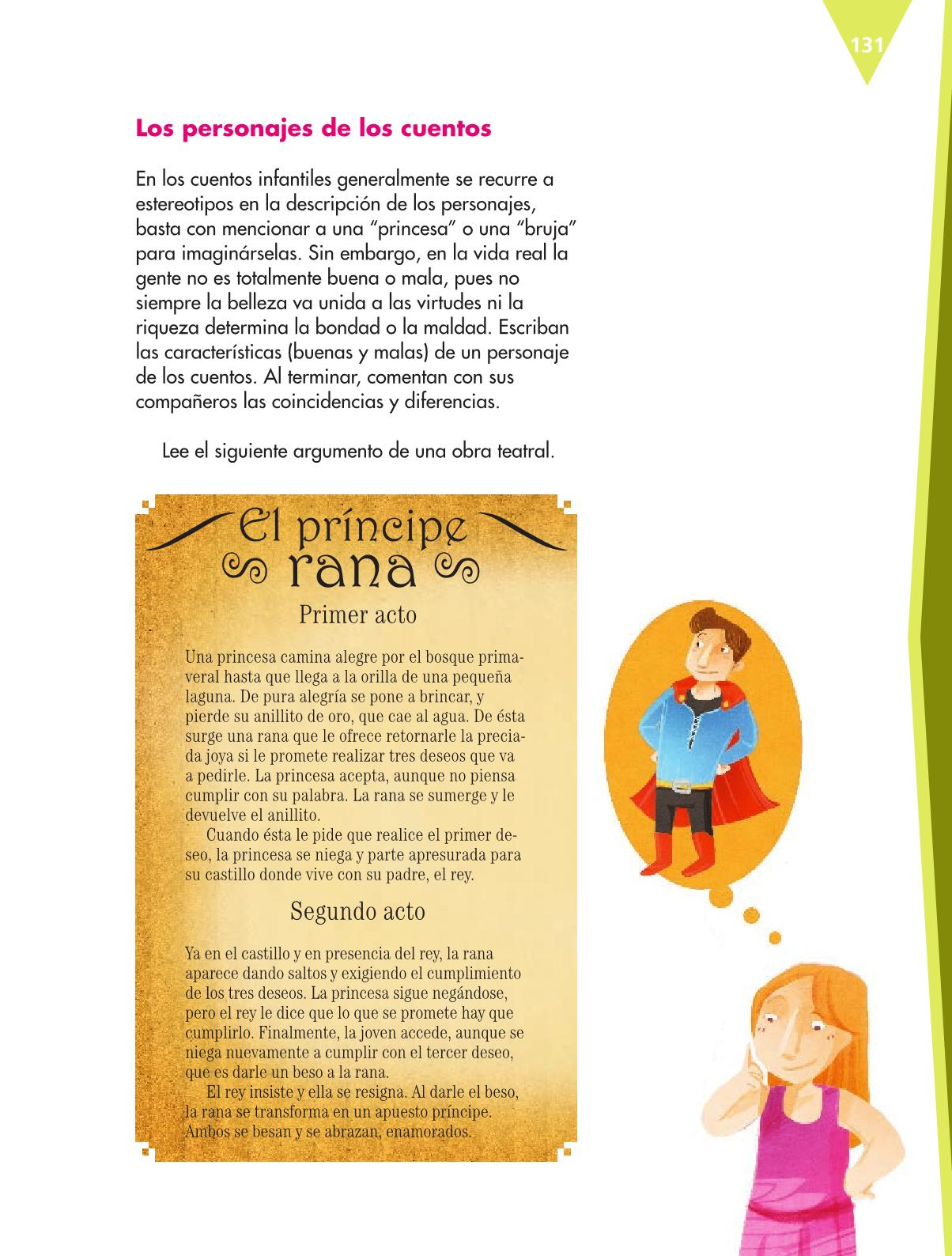 Español Libro para el alumnoquintoPagina 131