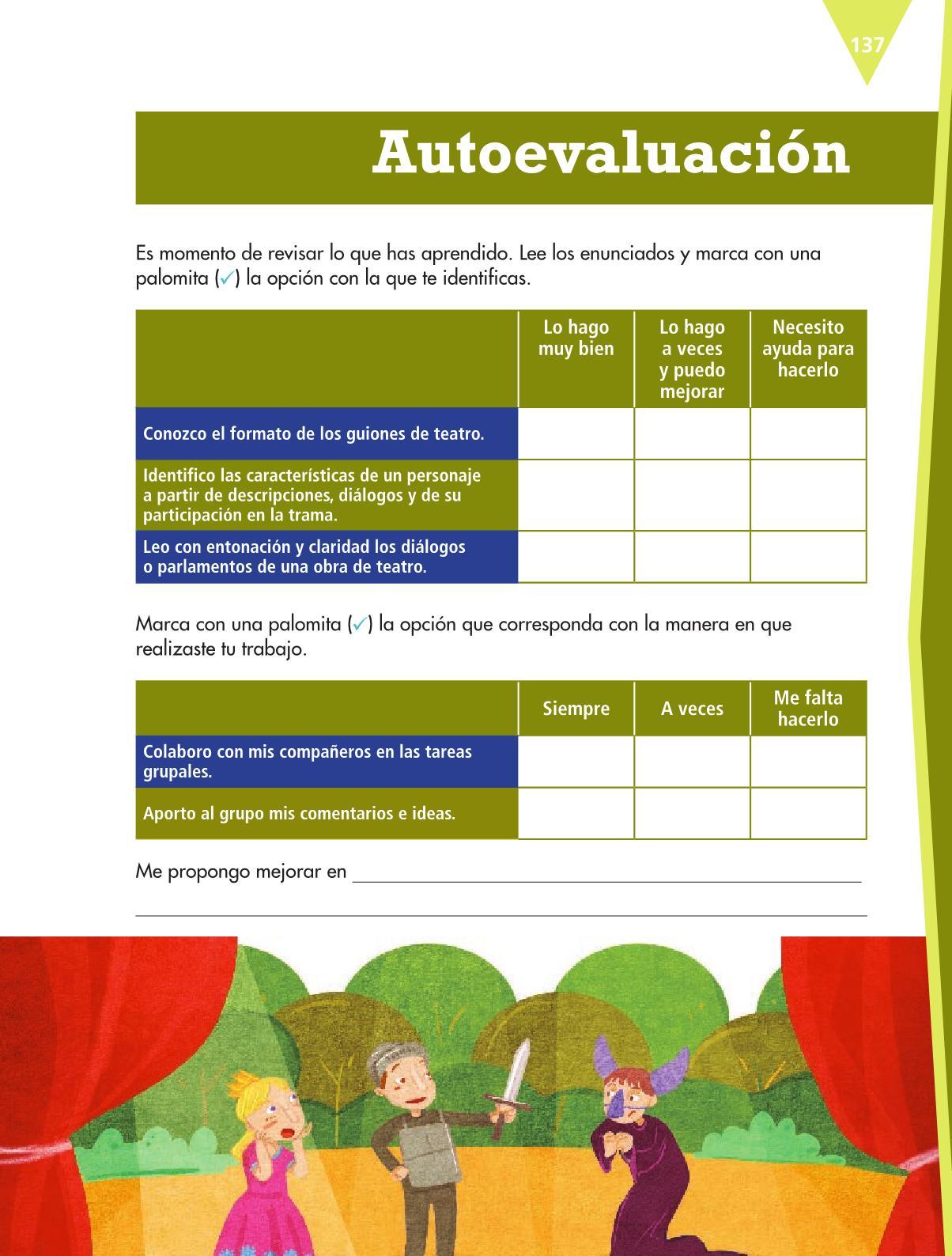 Español Libro para el alumnoquintoPagina 137