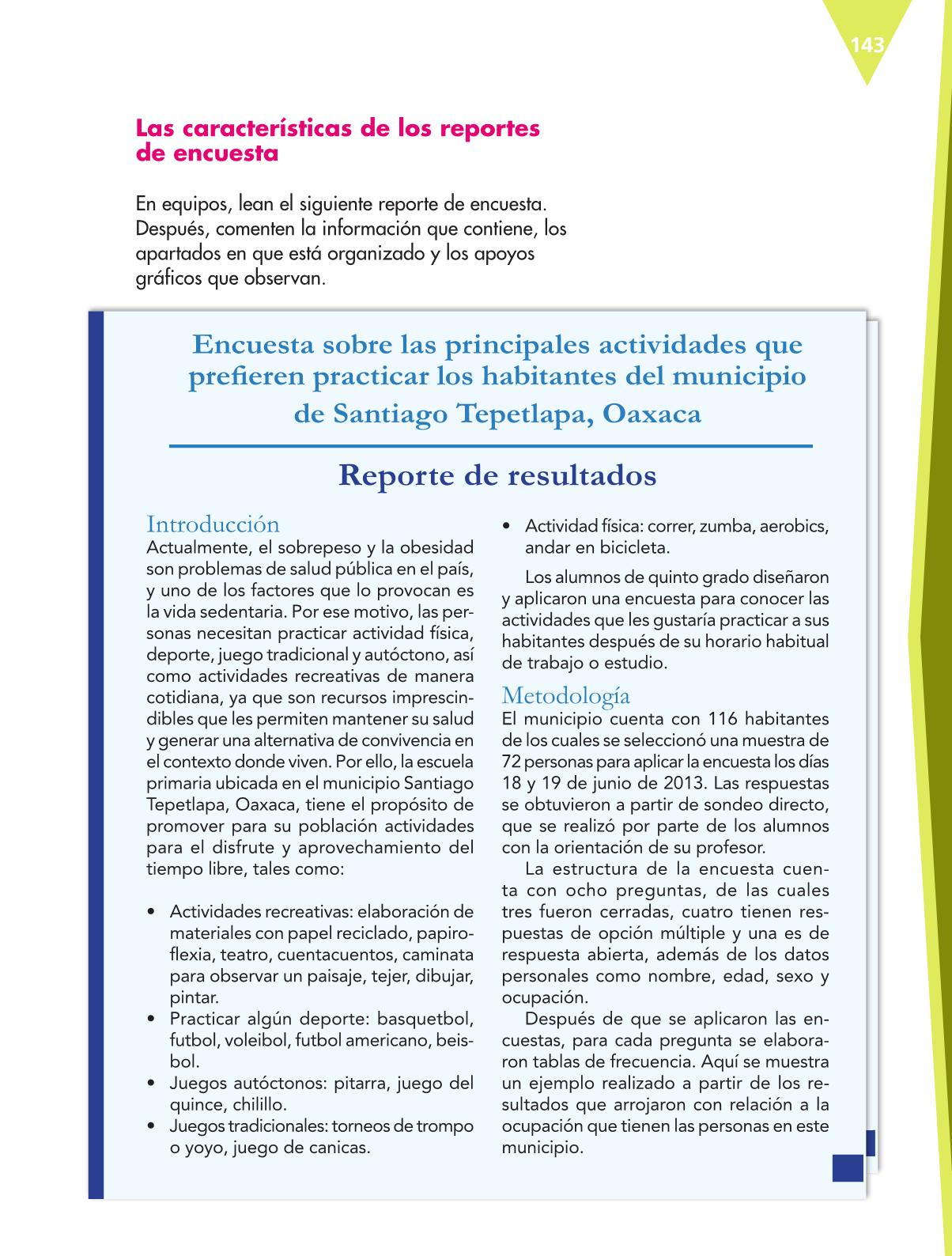 Español Libro para el alumnoquintoPagina 143