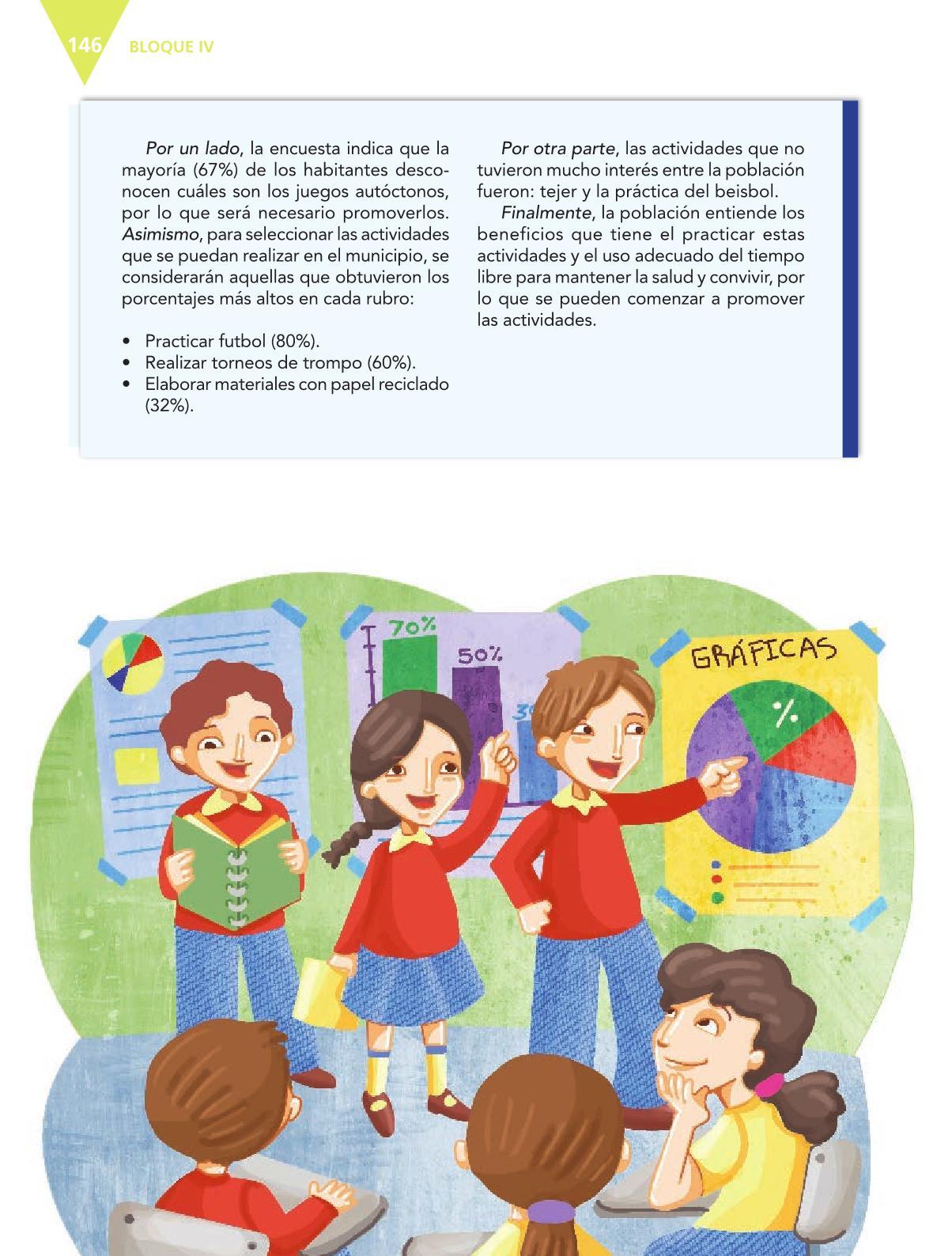 Español Libro para el alumnoquintoPagina 146