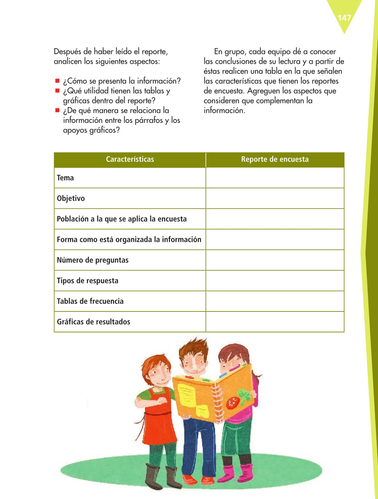 Español Libro para el alumnoquintoPagina 147