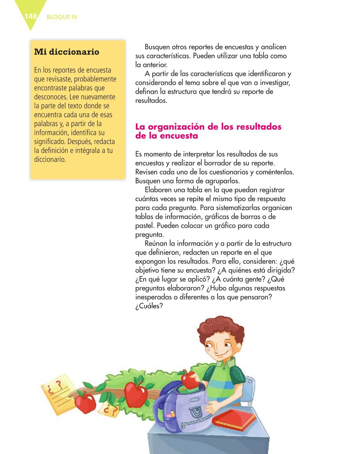 Español Libro para el alumnoquintoPagina 148