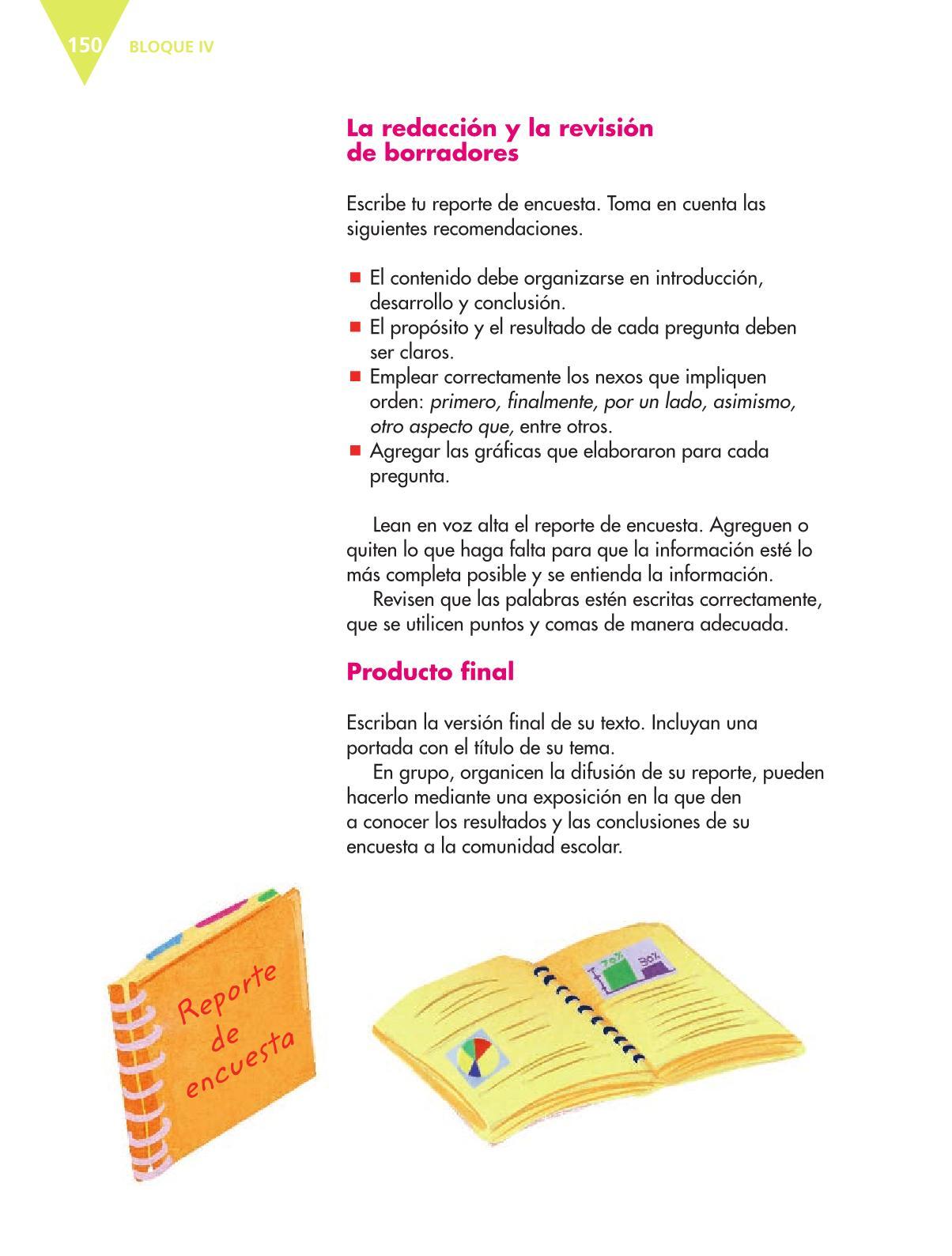 Español Libro para el alumnoquintoPagina 150