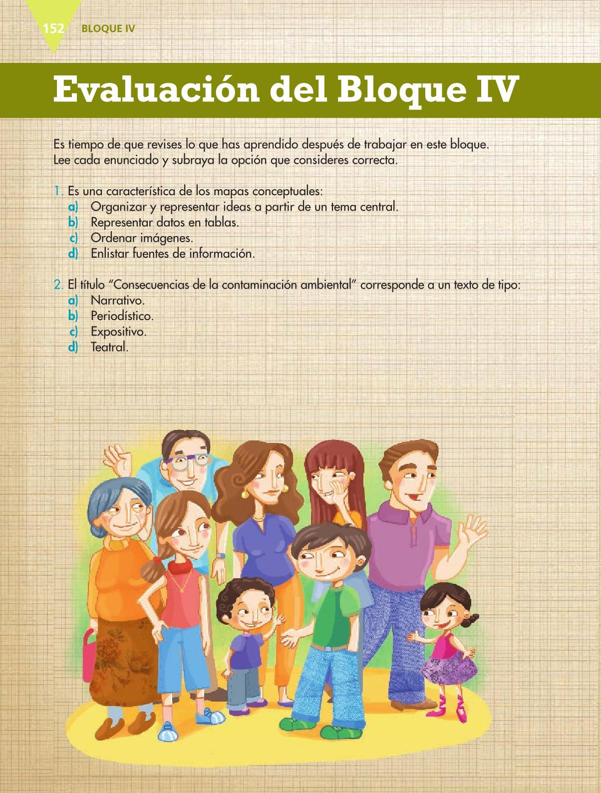 Español Libro para el alumnoquintoPagina 152