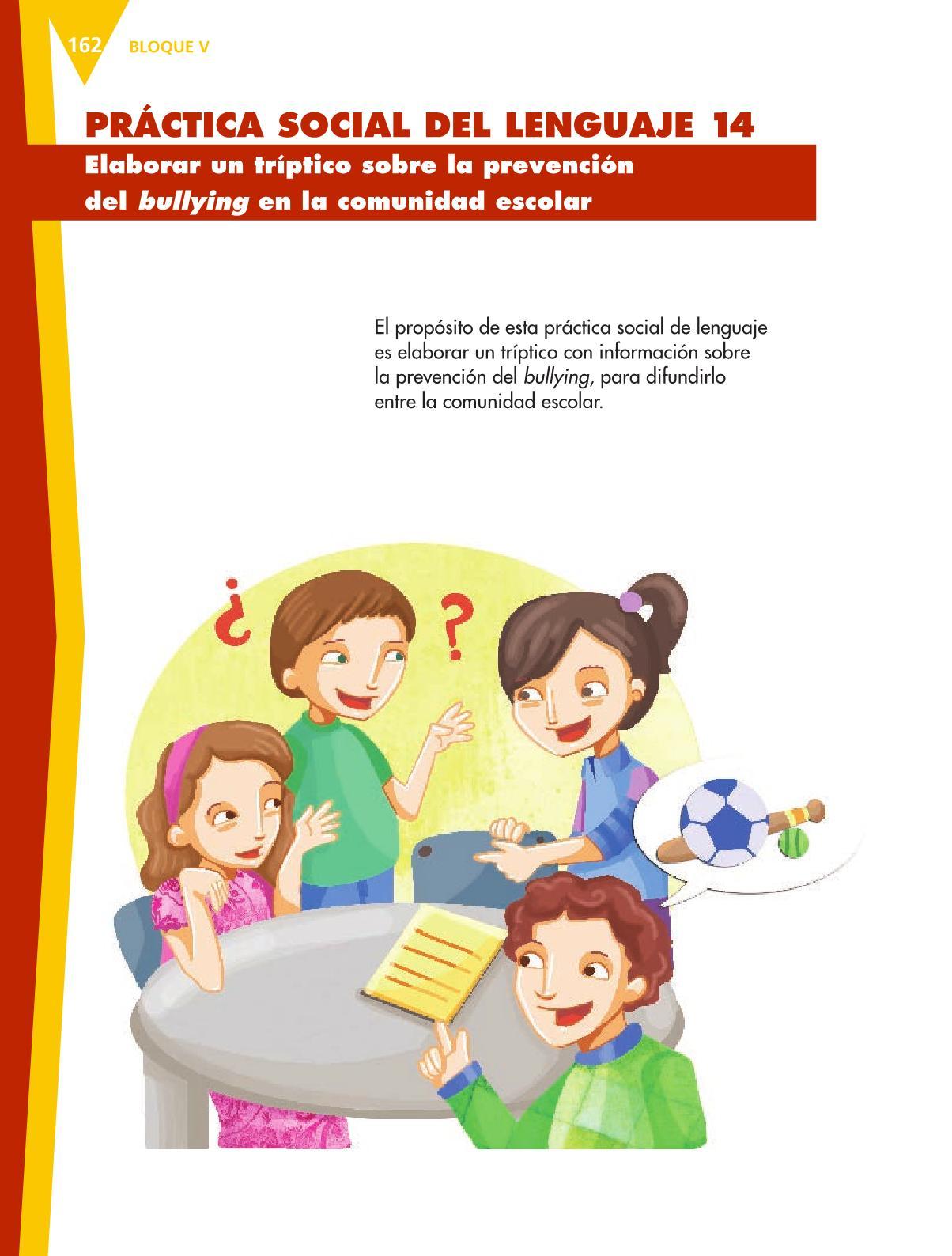 Español Libro para el alumnoquintoPagina 162