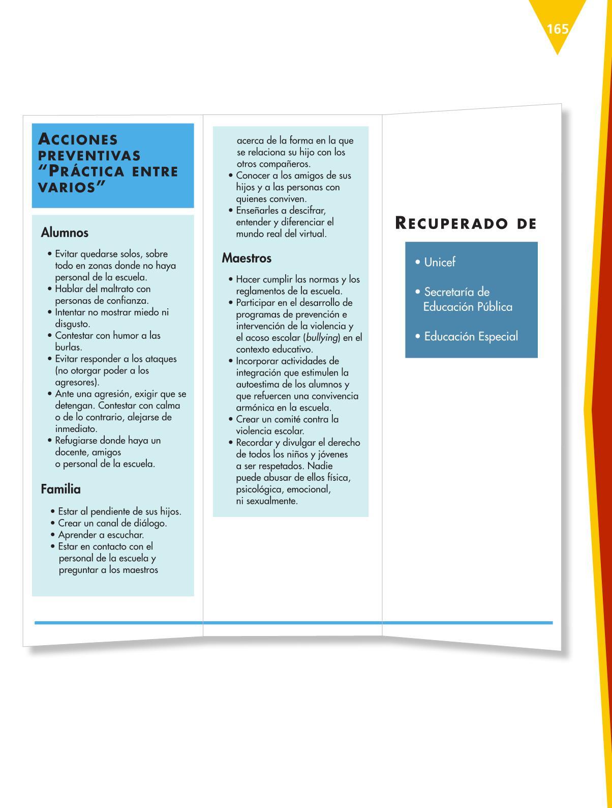 Español Libro para el alumnoquintoPagina 165